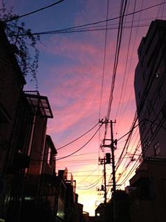 台風の過ぎた日の夕焼け-1.jpg