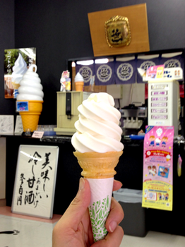 桃狩り 06酒粕がほんのり匂うソフトクリーム.png