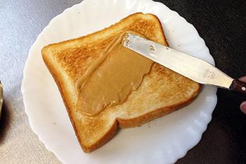 豆系トースト05 ピーナッツスプレッド.jpg